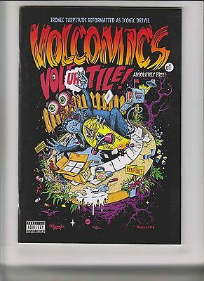 Volcomics #1 VF/NM extremely hard to find comic published by VOLCOM underground