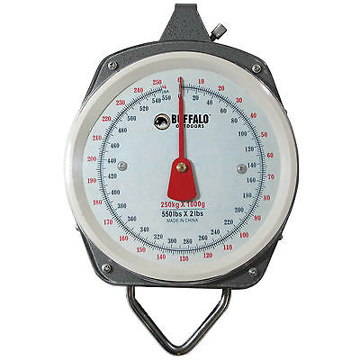Buffalo Outdoor 550 Pound Capacity Hanging Scale - MS550 New