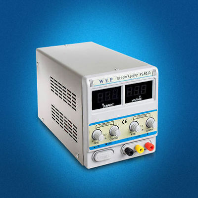 Digital Adjustable DC Power Supply for repair mobile phone within 60V 3A  GOOD