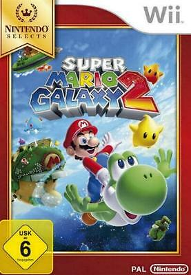 Nintendo Wii +Wii U SUPER MARIO GALAXY 2 Selects DEUTSCH NEU