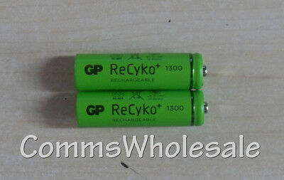 2 x GP Recyko AA 1300mAh Rechargeable Battery For Gigaset C620 C620A C620H