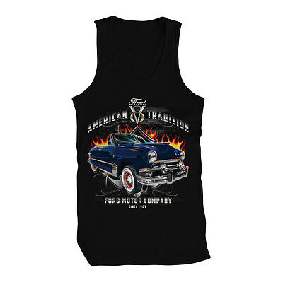 American Tradition Ford V8 Ford Motor Company 1911 Mens Tank Top