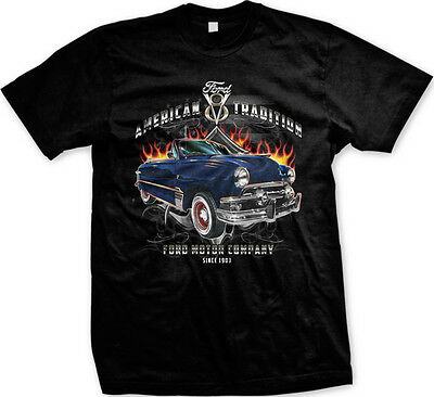 American Tradition Ford V8 Ford Motor Company 1907 Mens T-shirt