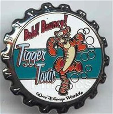 TIGGER TONIC SODA BOTTLE CAP SERIES 2003 WDW Disney PIN