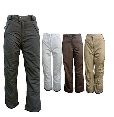 Pulse Women's Insulated Winter Cargo Waterproof Ski Snowboard Snow Pants