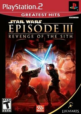 PlayStation2 : Star Wars Episode III Revenge of the Sith VideoGames