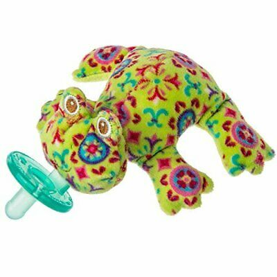 Mary Meyer WubbaNub Infant Newborn Baby Soothe Pacifier ~ Kiwi Frog