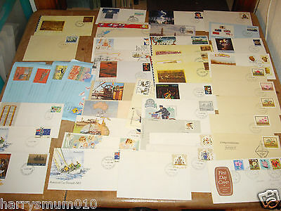 Collection First day covers Australia mainly early 1980 s