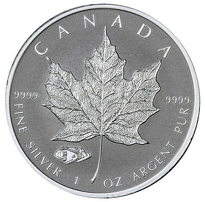 2016 Canada $5 1 Oz Reverse Proof Silver Maple Leaf Mark V Tank Privy SKU39171