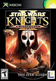 Xbox : Star Wars Knights of the Old Republic II: The Sith Lords VideoGames