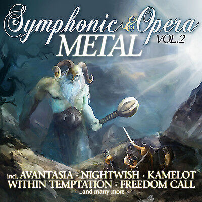 CD Symphonic & Opera Metal Vol.2 von Various Artists  2CDs