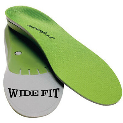 Superfeet wideGREEN Insoles Inserts Shoe Orthotic Men Women ALL SIZES WIDE green