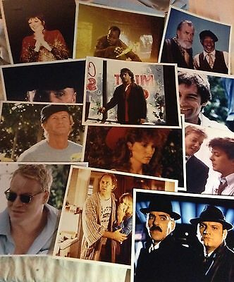 "100  MOVIE STAR COLOR PHOTO LOT 8"" by 10"" ORIGINAL LOADED WITH LOTS OF STARS"