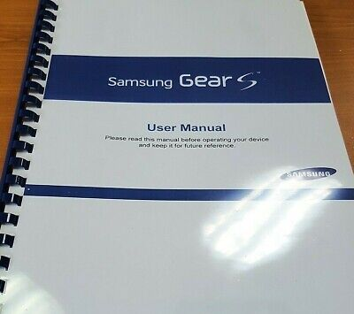 Samsung Galaxy Gear S (R750) Printed Instruction Manual User Guide 119 Pages