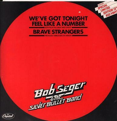 "Bob Seger & The Silver Bullet Band(Red 12"" Vinyl P/S)We've Got Tonight-VG+/NM"