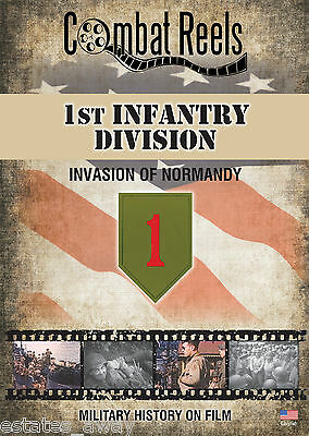 1st Infantry Division: Normandy Invasion Combat Camera Film Footage Research DVD