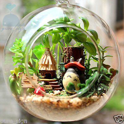 DIY Handcraft Miniature Project Kit Dolls House The Totoro's Forest Cottage