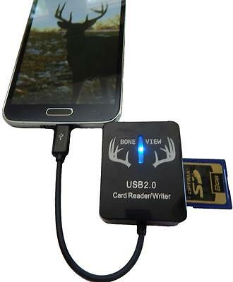 BoneView SD Card Reader for Android Devices (microUSB connector) Bone View