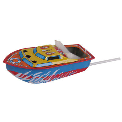 Recycled Put Put Steam Boat Pop Pop Candle Engine Motor Powered Working Toy