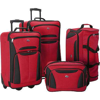American Tourister Fieldbrook II 4 Pc Nested Luggage Luggage Set NEW