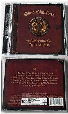GOOD CHARLOTTE - The Chronicles Of Life And Death .. Epic CD TOP