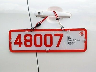 Trade Plate Holders Add On Kit For Vans And Tinted Rear Windows 1 Single Plate