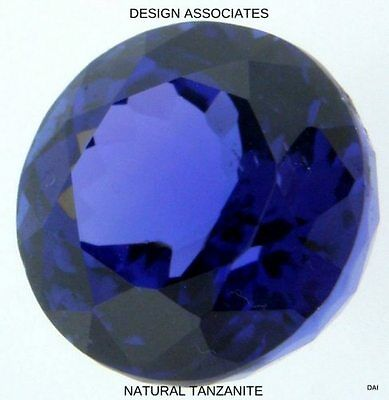 Tanzanite  Round  Natural Gemstone Lot Loose 7 Mm Gemstones