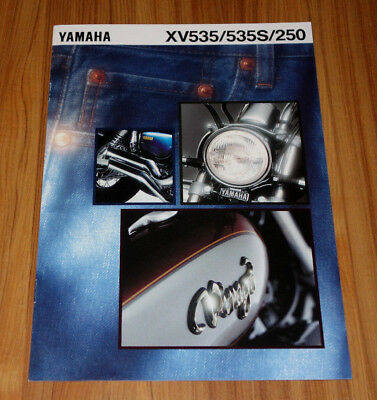 Catalogue YAMAHA XV 535 / 250 de 1994