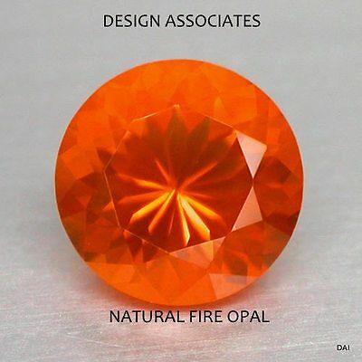 Mexican Fire Opal 6 Mm Round Cut Only $9.99 All Natural