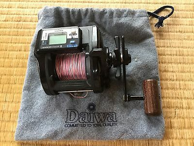 Daiwa X350 Tanasensor Digital Readout Reel