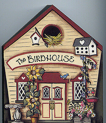Brandywine Collectible Houses & Shops: BIRDHOUSE - Wooden Shelf Sitter