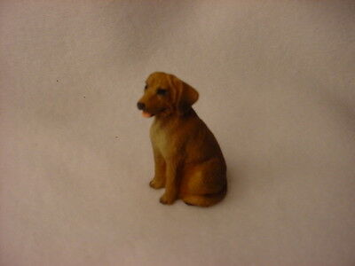 RHODESIAN RIDGEBACK puppy TiNY DOG Resin Figurine MINIATURE Mini COLLECTIBLE New