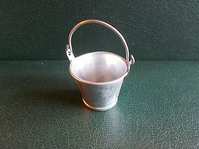 1/12th Scale. Dolls House. Metal Bucket.