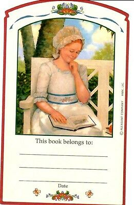Retired American Girl Felicity Bookplate! Summer Outfit~Book Plate Sticker 2003!