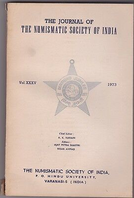 The Journal of the Numismatic Society of India Vol XXXV 1973