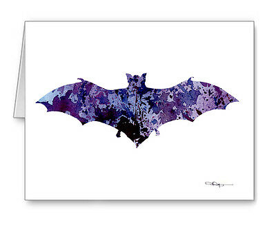 BAT Note Cards With Envelopes