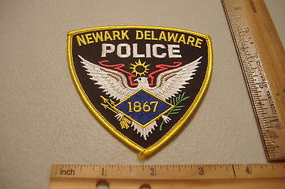 ~Newark~Delaware~Police~Fabric Patch~