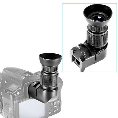 Neewer 1.25X/2.5X Magnification Right Angle Viewfinder for Canon Nikon Camera