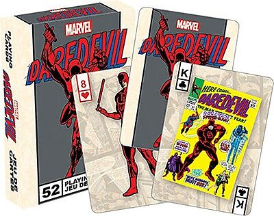 Daredevil (Marvel) set of 52 playing cards (+ jokers) (nm 52362)