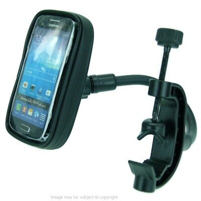 IPX4 Weatherproof Golf Trolley Flexi Clamp Phone Holder Mount for Galaxy S4 MINI