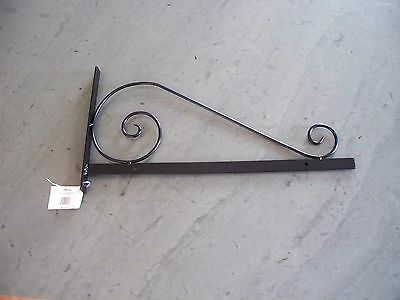 Wrought Iron Traditional Sign Bracket MSB02