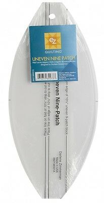 EZ Uneven Nine Patch Acrylic Quilting Template (882138001A)