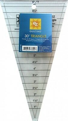 EZ 30 Degree Triangle Acrylic Quilting Template (8829418A)