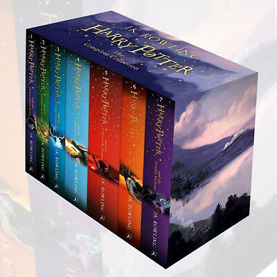 The Complete Harry Potter Collection By J.K.Rowling 7 Books Set English Language