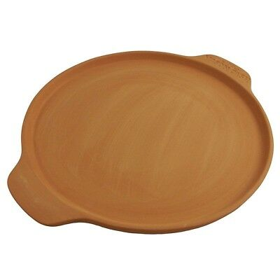 Mason Cash Unglazed Terracotta 30.5cm Bread & Pizza Flat Bread Baking Stone NEW