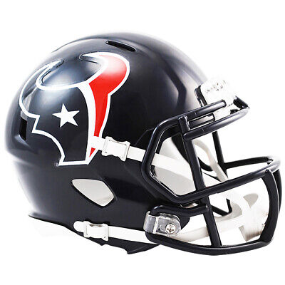 NFL Football Mini Helm Helmet HOUSTON TEXANS Speed Footballhelm Riddell OVP