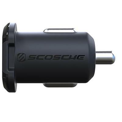 Scosche reVOLT USB FAST Car Charger 2.4A For iPhone 7/6/6S, HTC M9 & Android etc