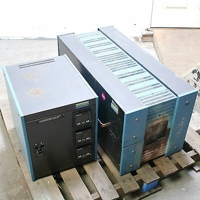 Lindberg 55347-4 3-zone Tube Furnace with 58434 Controller 208/240V