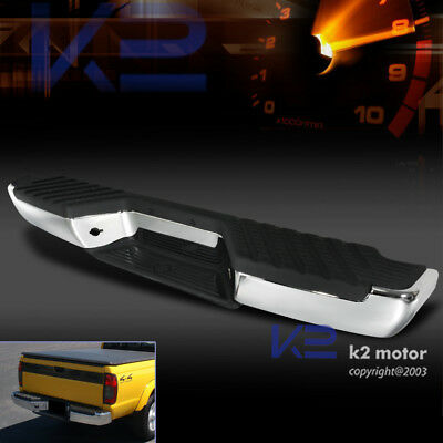 Pickup Truck Rear Bumper Step Chrome For 1998-2004 Nissan Frontier