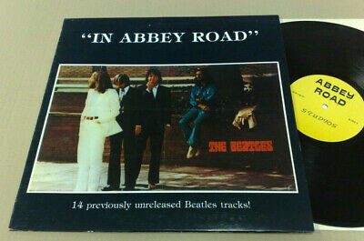 The Beatles In Abbey Road 14 Previously Unreleased Beatles Tracks! 1983 Lp